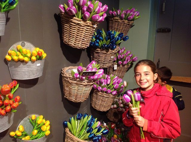 Martina y los tulipanes