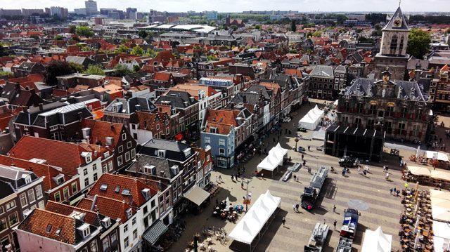 Panorámica de Delft