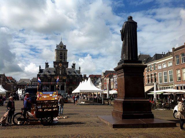 Plaza del mercado de Delft