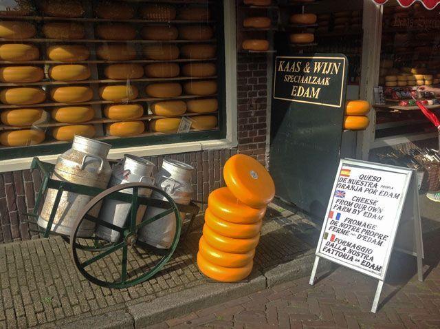 Tiendas de quesos de Edam
