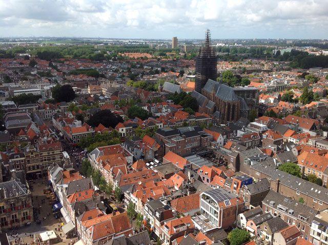 Vista de la iglesia vieja