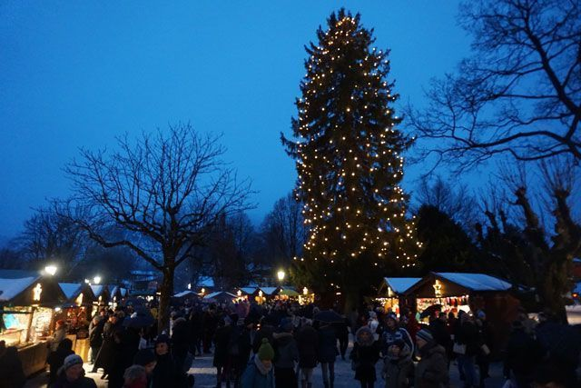 Árbol de Navidad de Rottach Egern