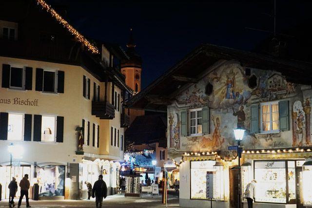 Casas pintadas de Garmisch