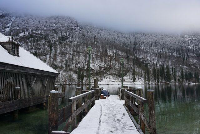 Embarcadero en-invierno