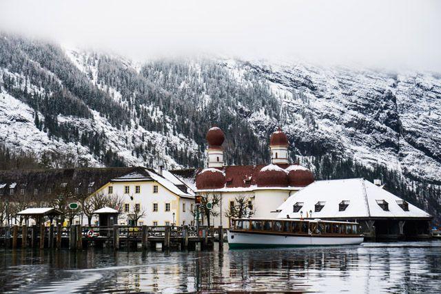 Lago Königsee, Berchtesgaden