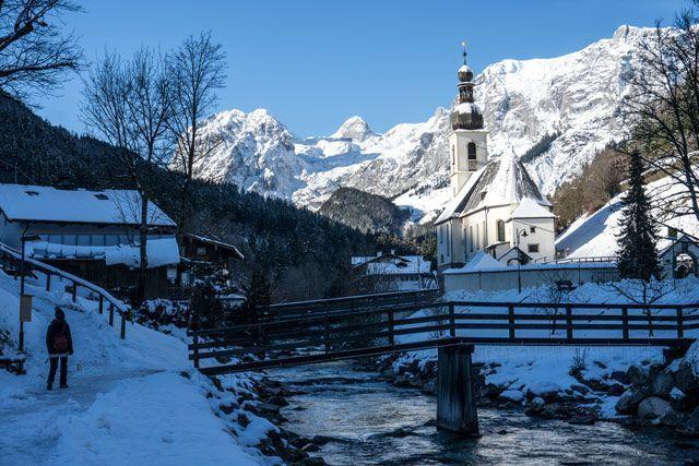 Paseo en Ramsau bei Berchtesgaden