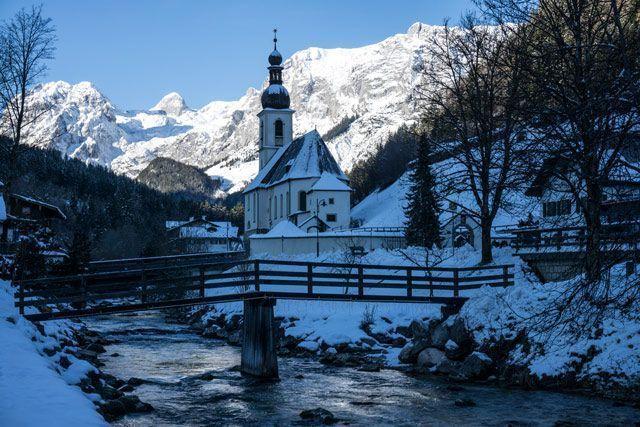 Ramsau bei Berchtesgaden: el cielo existe