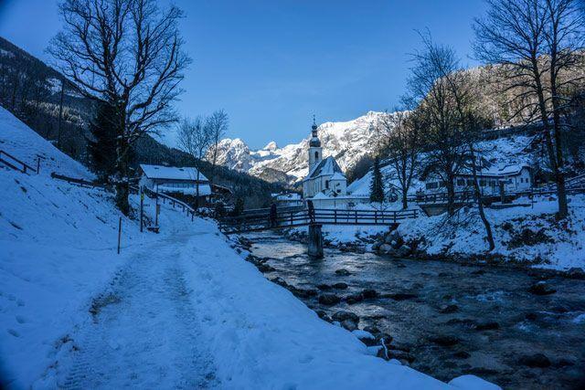 Vista de Ramsau bei Berchtesgaden