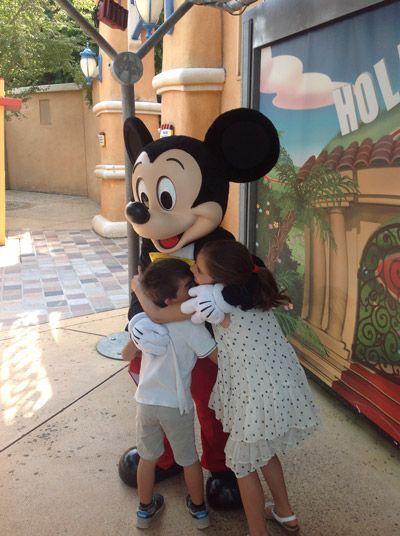 ¡Te queremos Mickey!