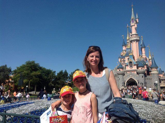 El castillo de Disneyland Paris
