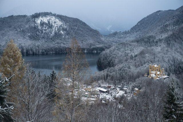 Vista desde Neuschwanstein