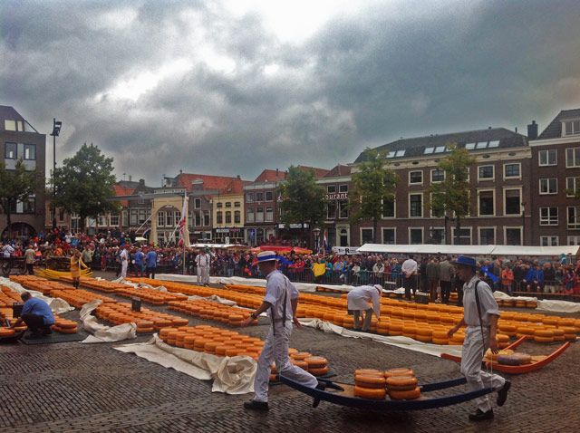 Mercado de los quesos de Alkmaar