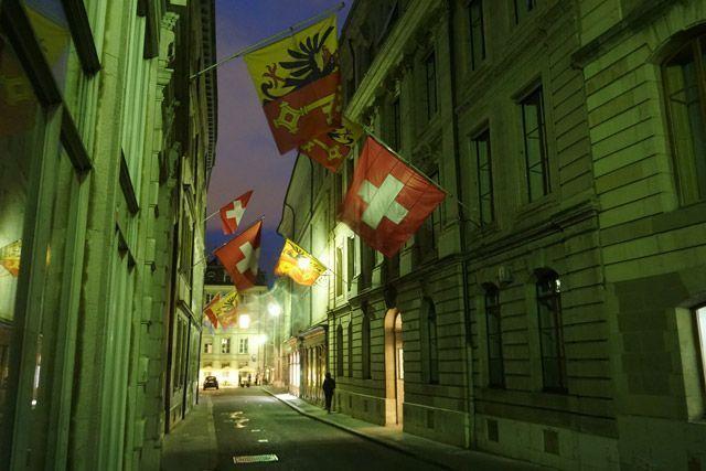 Centro histórico de Ginebra