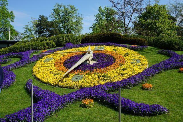Reloj floral de Ginebra