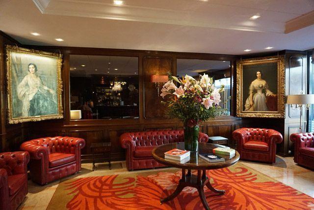 Hall del Hotel Bristol