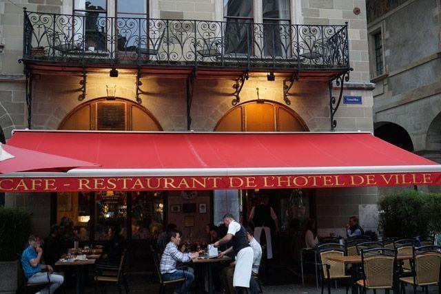 Restaurantes de Ginebra