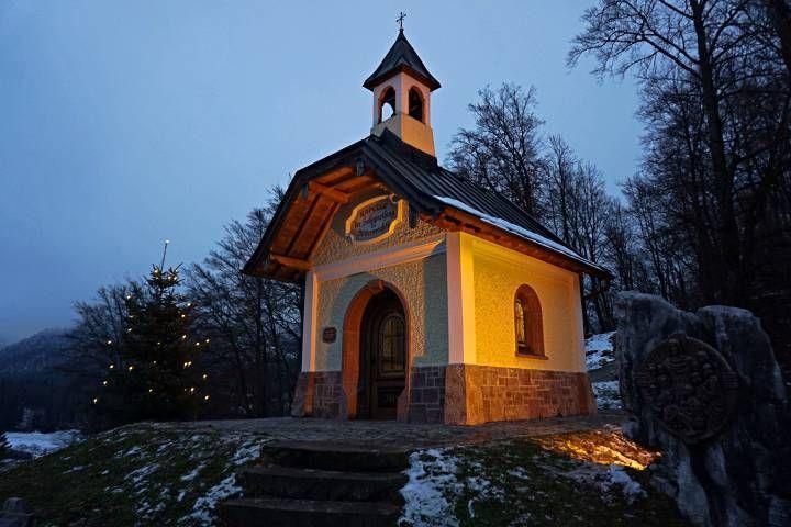 Capilla de Kirchleitn en Berchtesgaden