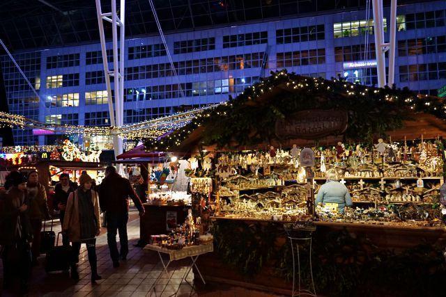 Casetas del mercado de Navidad de Múnich