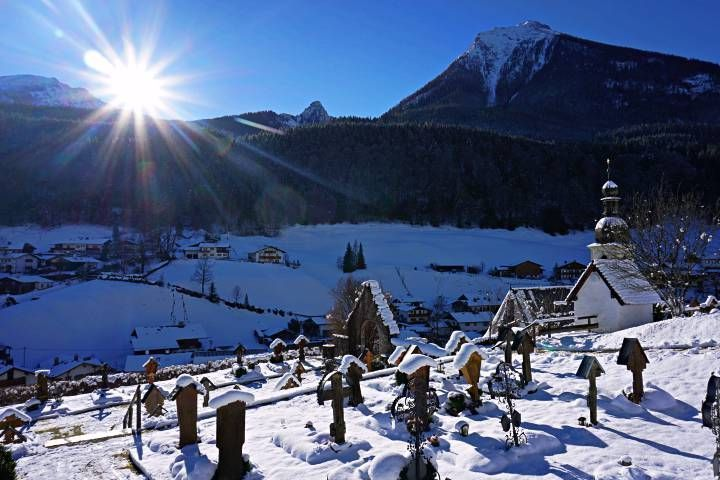 Cementerio de Ramsau bei Berchtesgaden