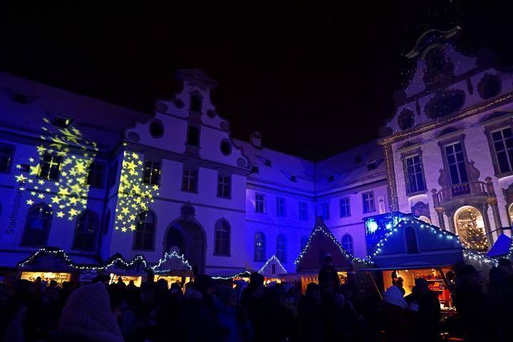 Luz y color en el Mercado de Navidad de Füssen