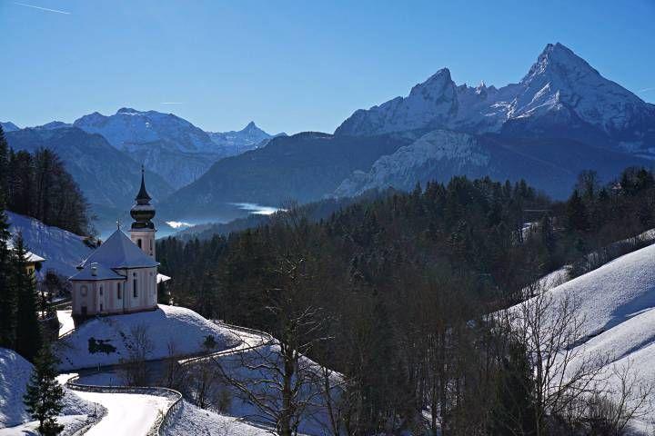 Maria Gern y el Monte Watzmann
