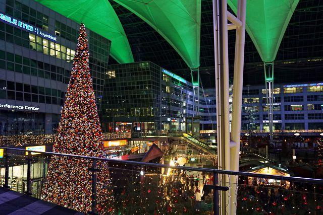 Mercadillo de Navidad del aeropuerto de Múnich