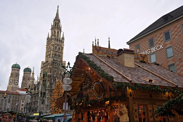 Mercado de Navidad de Munich
