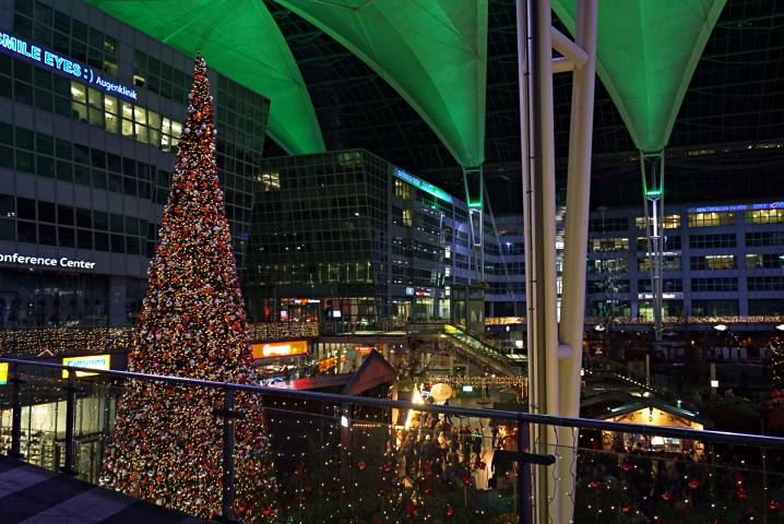 Mercado de Navidad del Aeropuerto de Munich