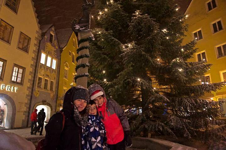 Navidad en familia en Füssen