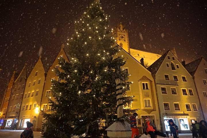 Nieve en Baviera