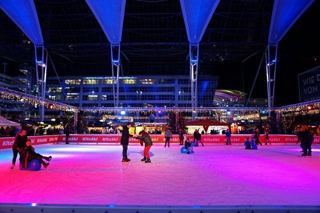 Pista de hielo del aeropuerto de Múnich