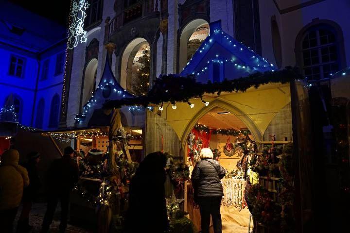 Puestos del mercado de Navidad de Füssen