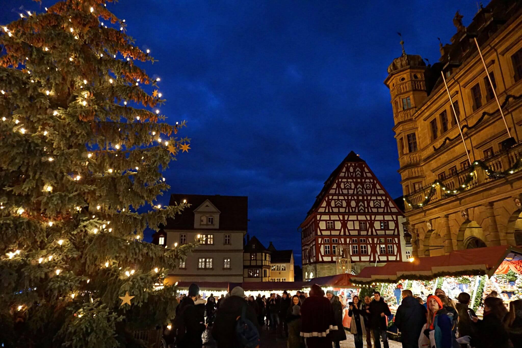 Árbol de Navidad de Rothenburg