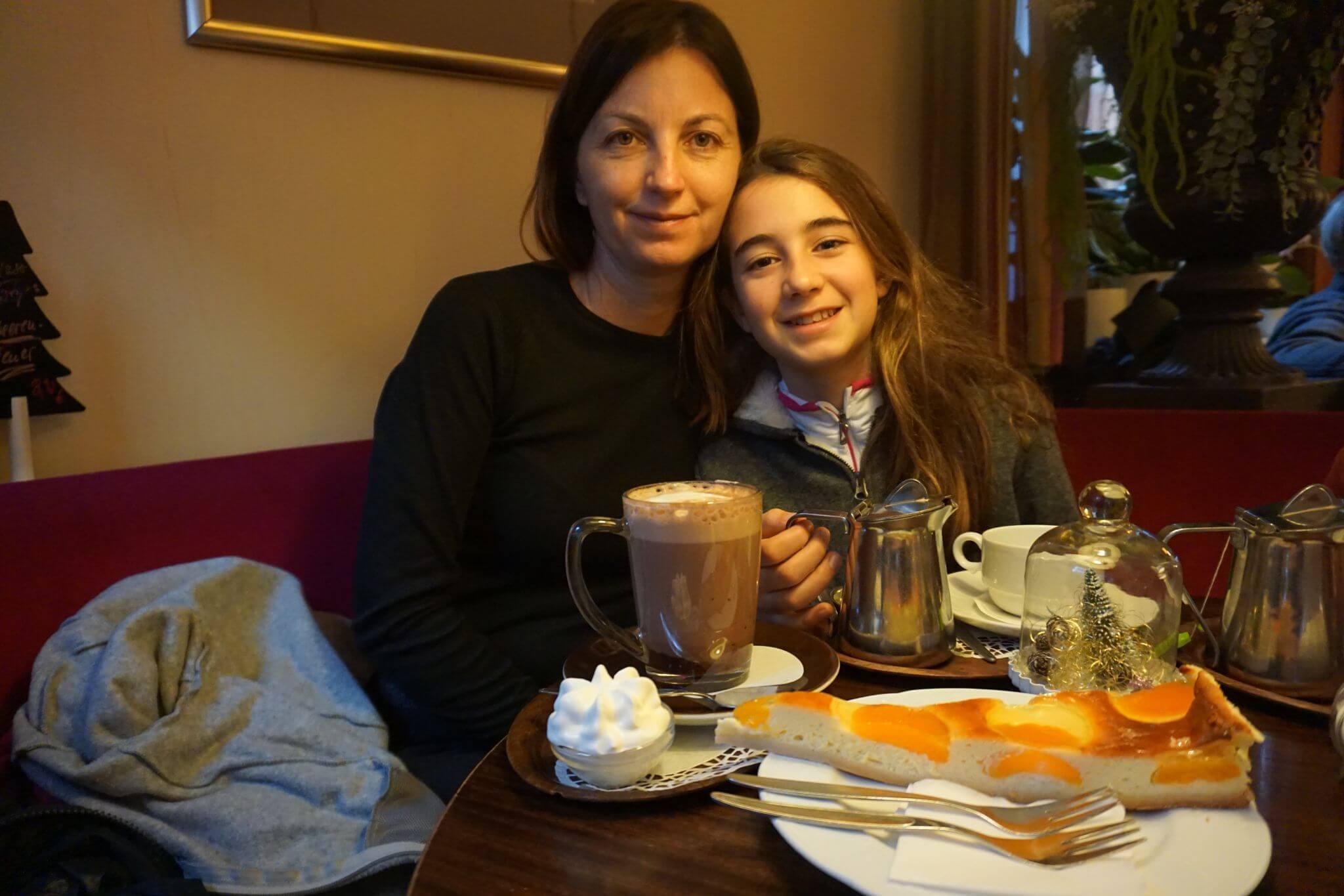 Café y pasteles en Michelstädt