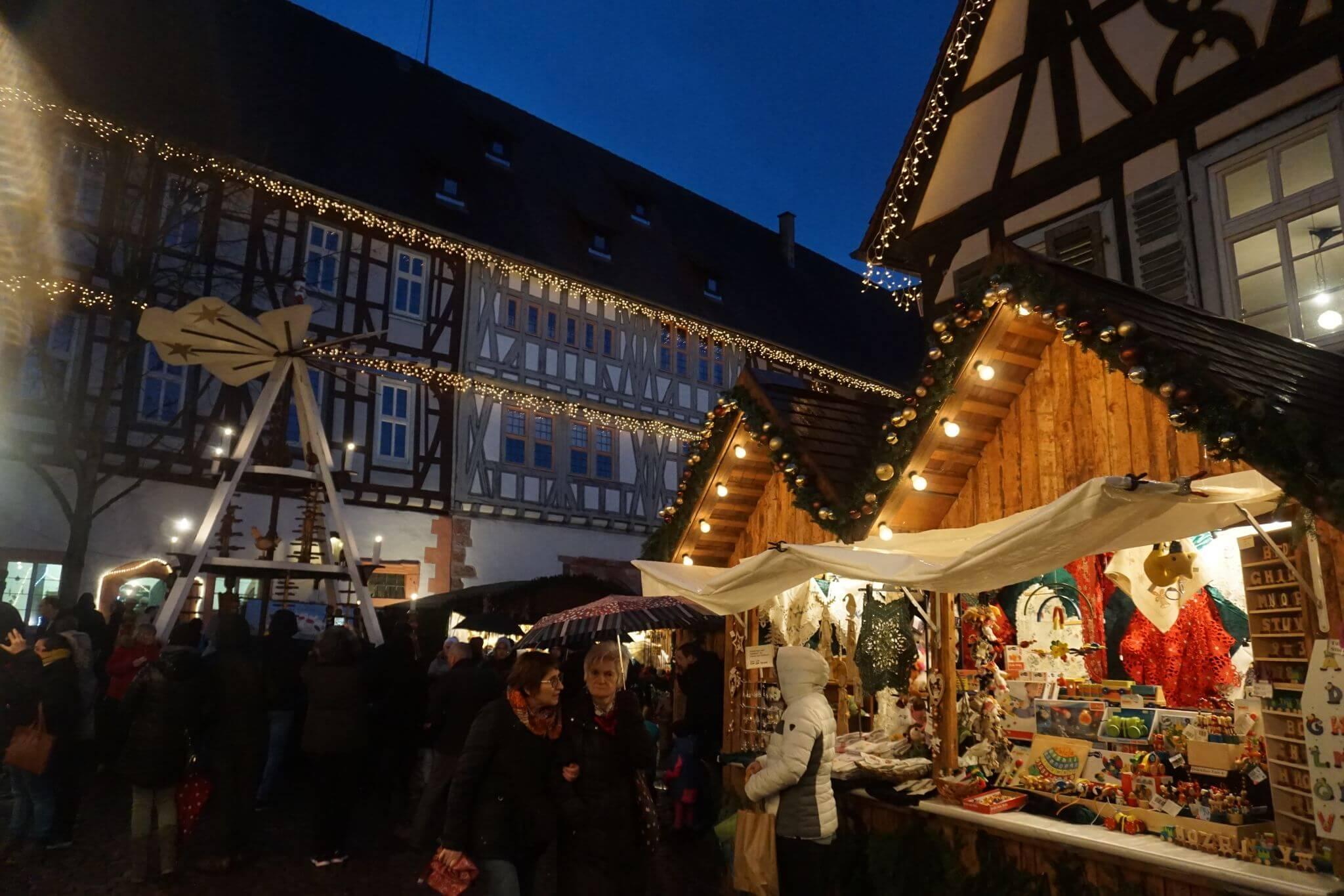 De compras navideñas en Michelstädt