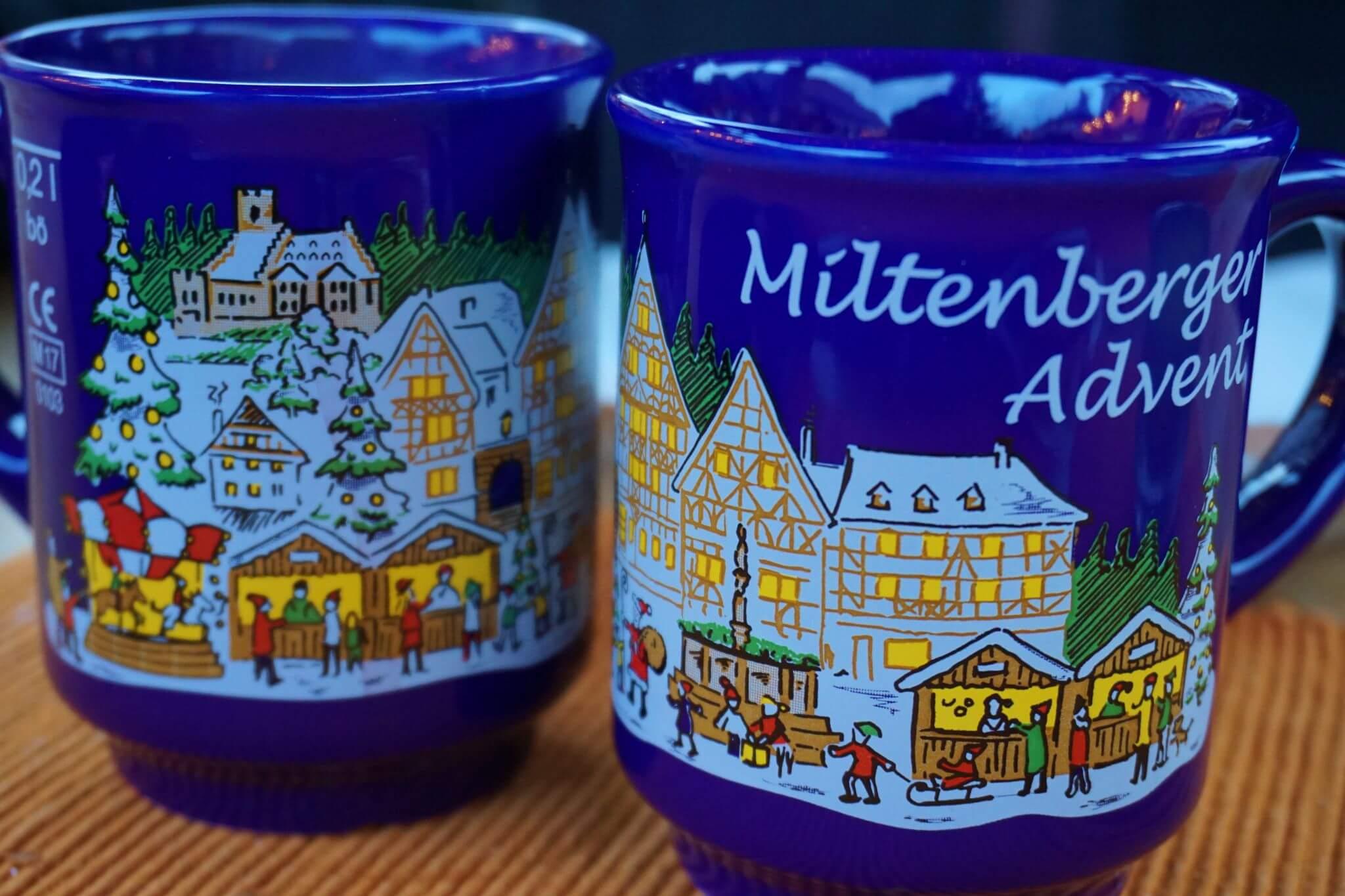 Glühwein en Miltenberg