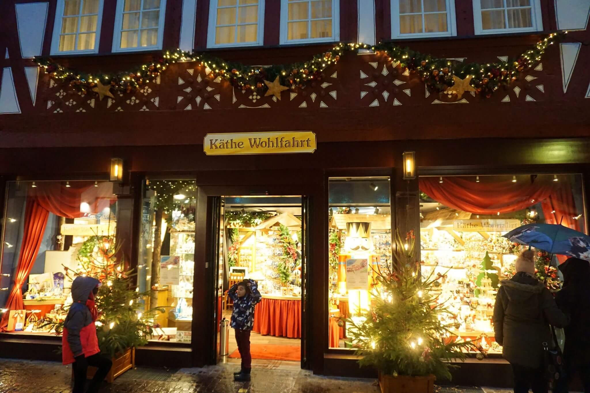 La tienda de la Navidad de Miltenberg