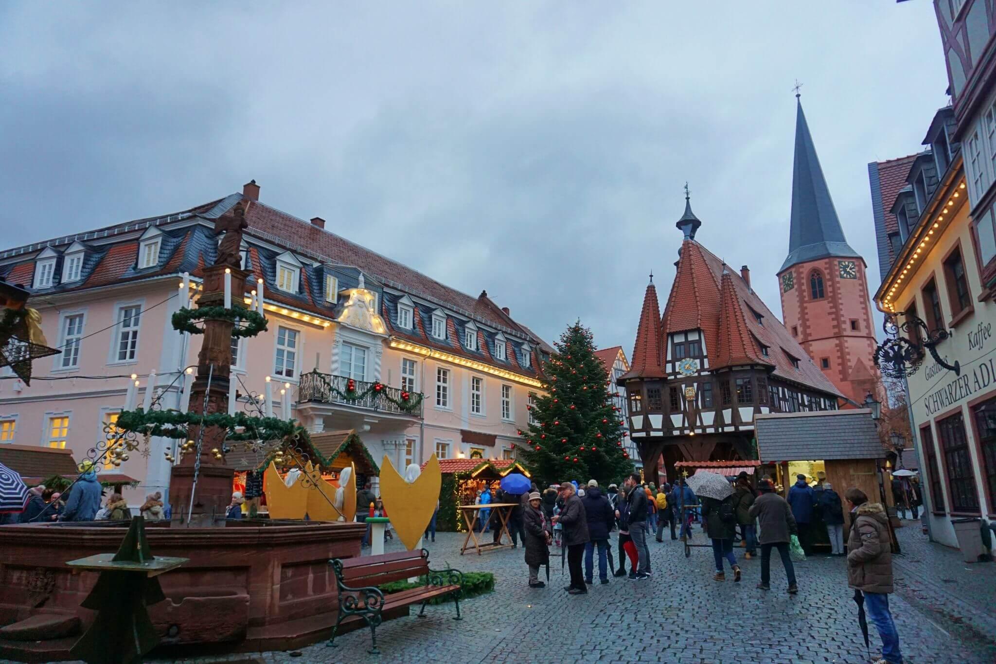 Marktplatz de Michelstädt