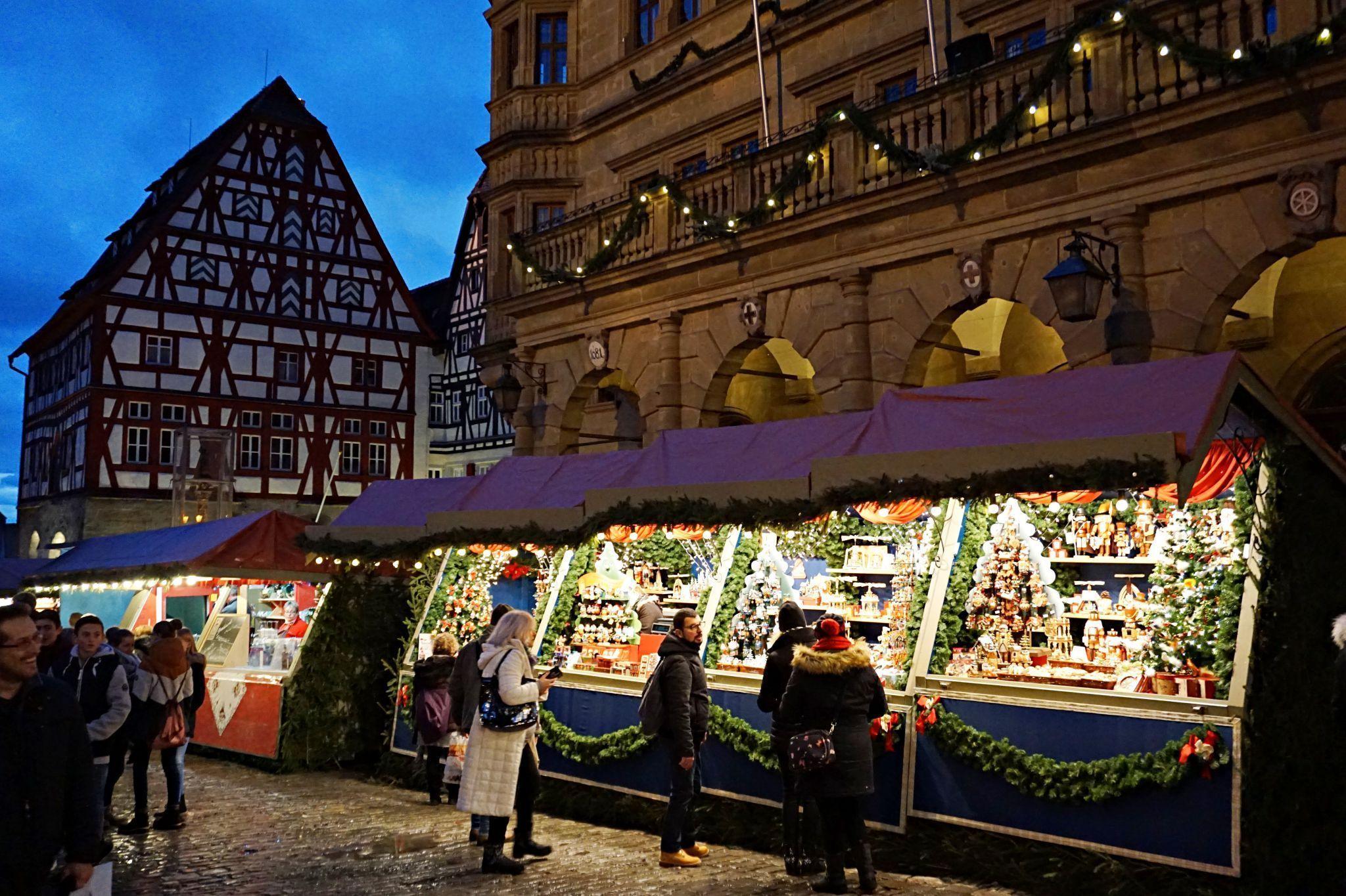 Mercadillo de Navidad de Rothenburg