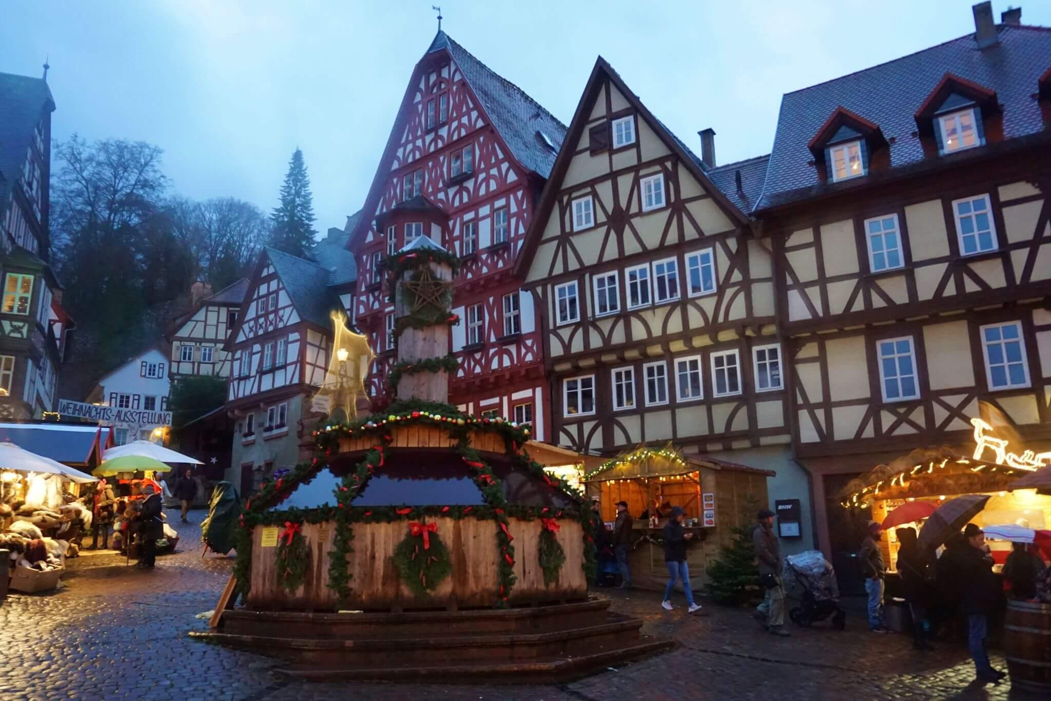 Mercado de Navidad de Miltenberg