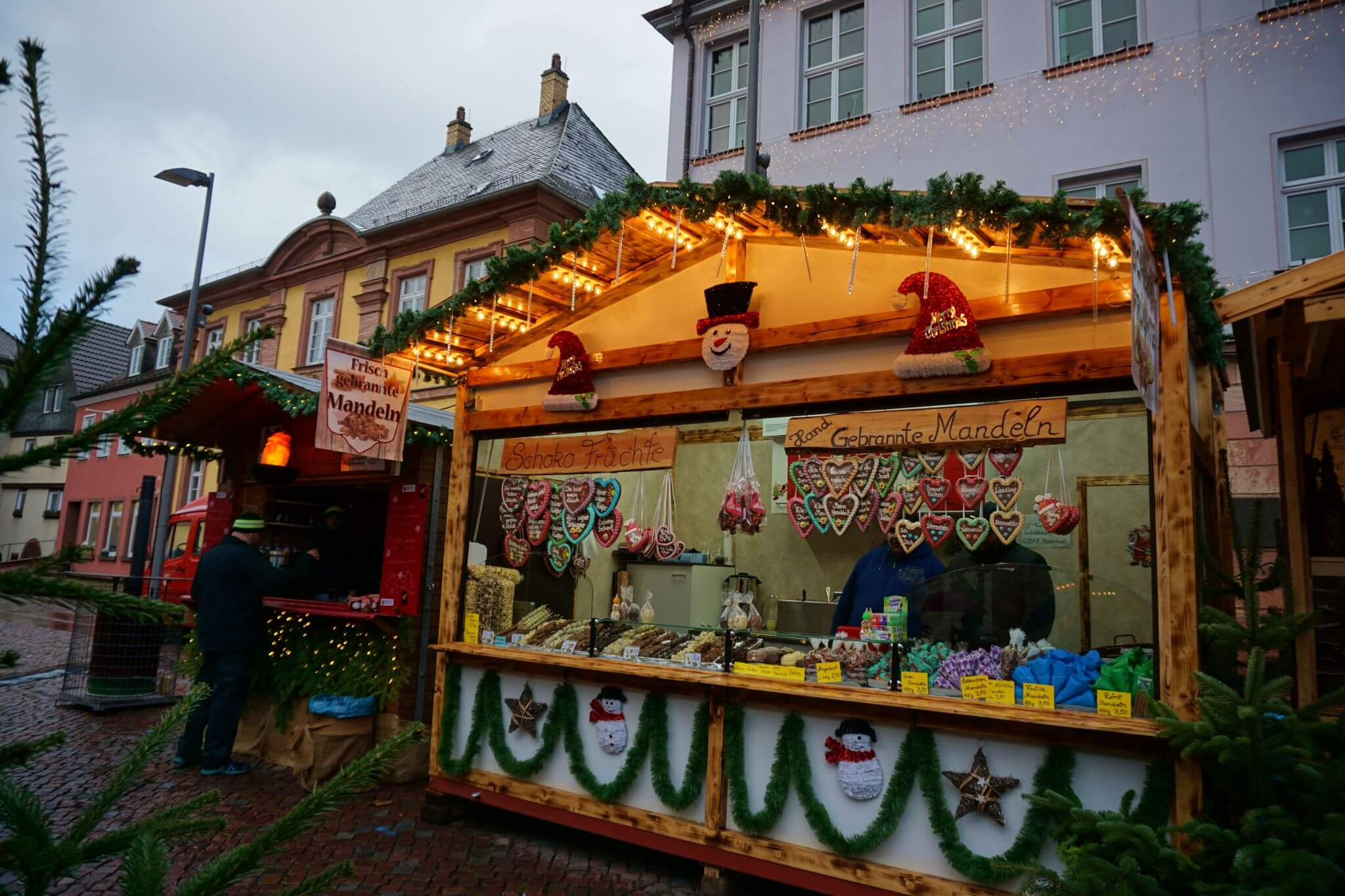 Mercado de Navidad en la Engelplatz