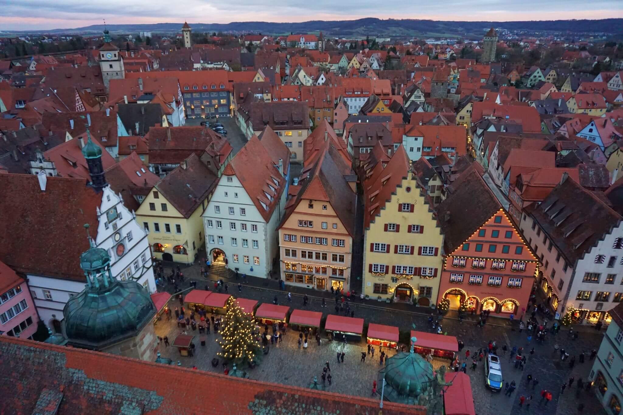 Rothenburg desde el cielo