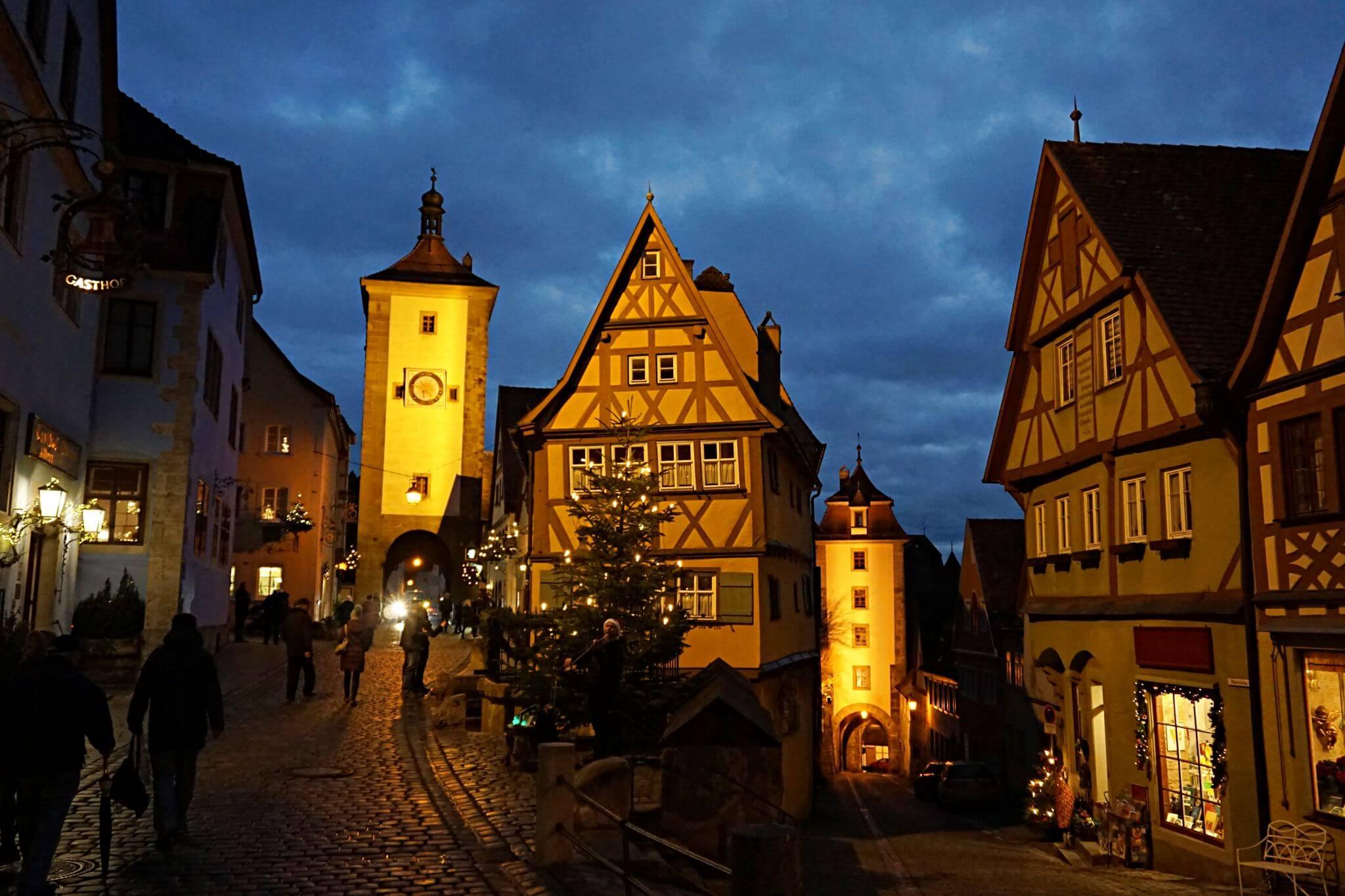 Rothenburg en Navidad