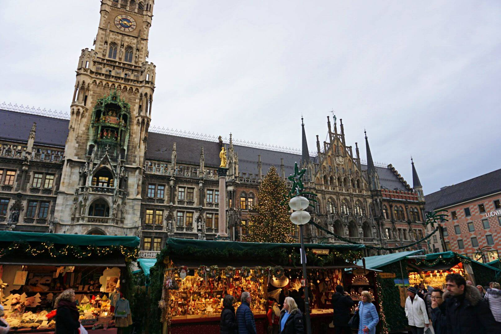 Mercado de Navidad de la Marienplatz