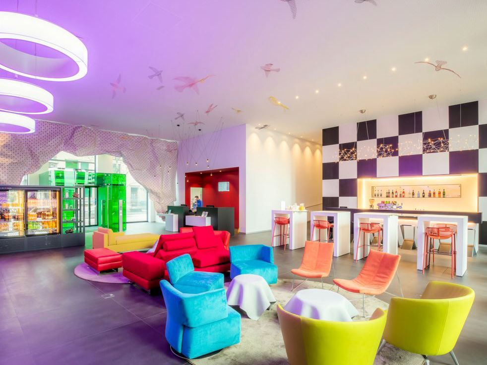 Lounge Ibis Styles Hotel Basel